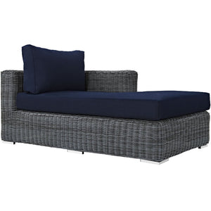 Summon Outdoor Patio Right Arm Chaise - taylor ray decor