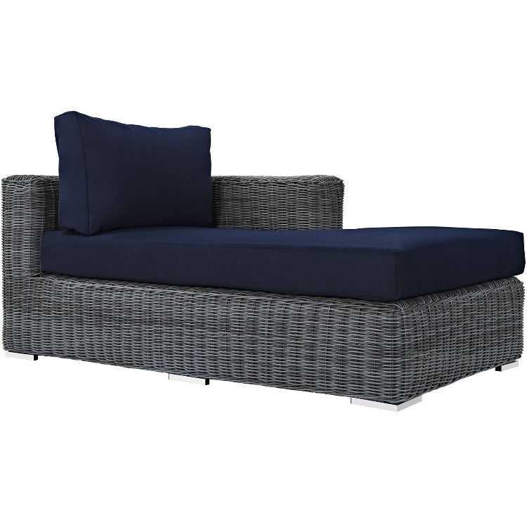 Summon Outdoor Patio Right Arm Chaise