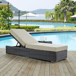 Summon Outdoor Patio Chaise Lounge
