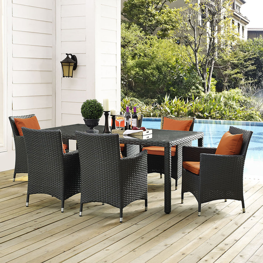 "Sojourn 70"" Outdoor Patio Dining Table - taylor ray decor"