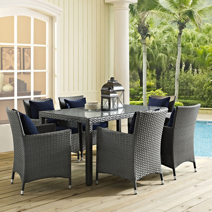 "Sojourn 59"" Outdoor Patio Dining Table - taylor ray decor"