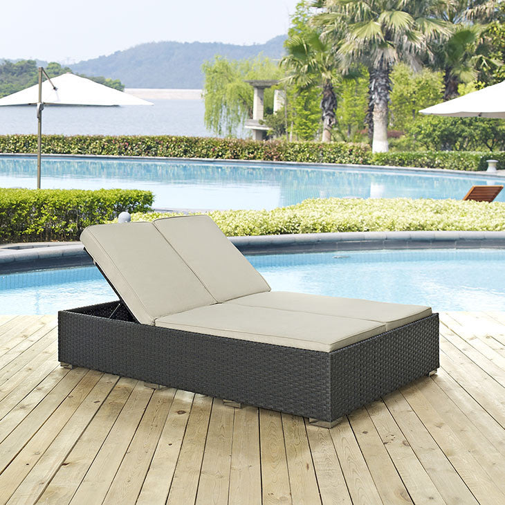 Sojourn Outdoor Patio Chaise - taylor ray decor