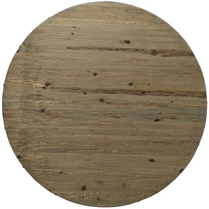 "Drive 60"" Round Wood Top Dining Table"