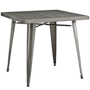 "Alacrity 32"" Metal Top Dining Table - taylor ray decor"