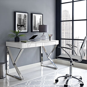 Adjacent Modern Home Office Desk - taylor ray decor