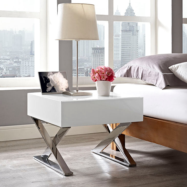 Sector Modern Nightstand / End Table
