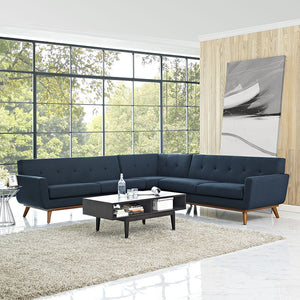 Engage Mid-Century Modern L-Shaped Sectional Sofa - taylor ray decor