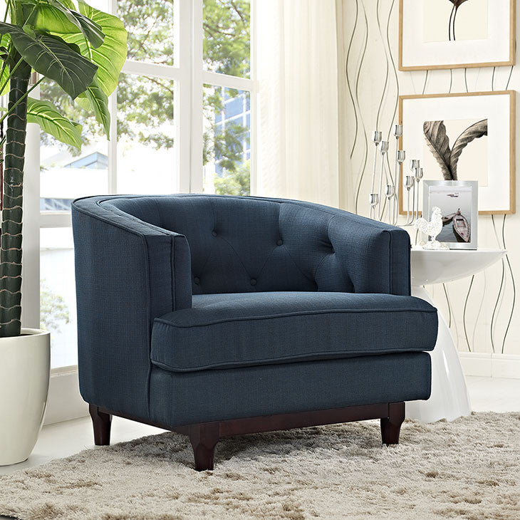 Coast Tufted Armchair - taylor ray decor