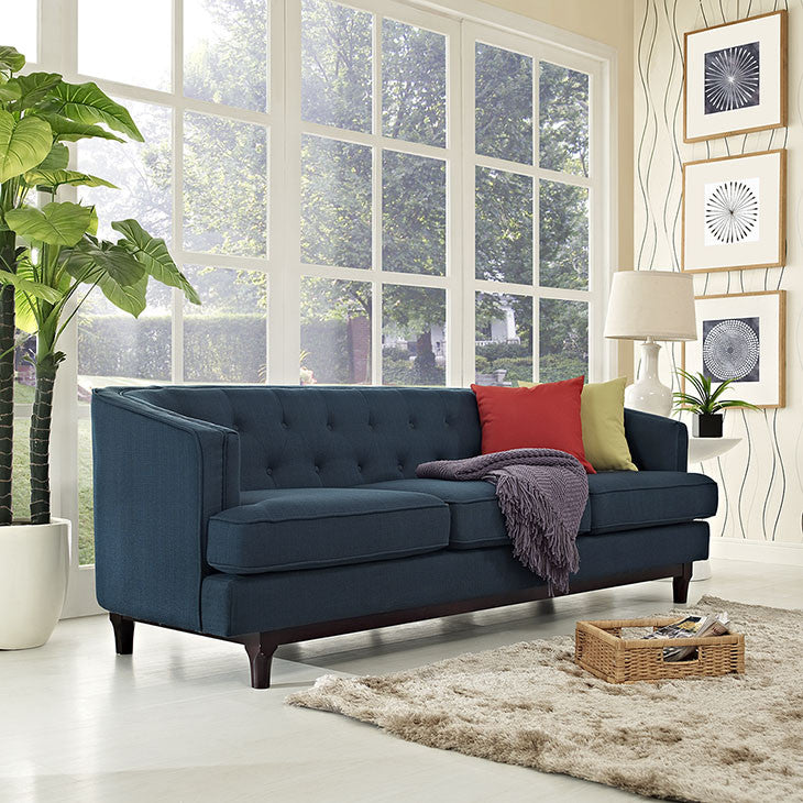 Coast Tufted Sofa - taylor ray decor