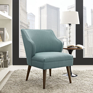 Swell Fabric Armchair