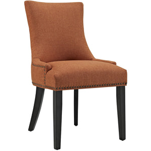 Marquis Fabric Dining Chair in Orange