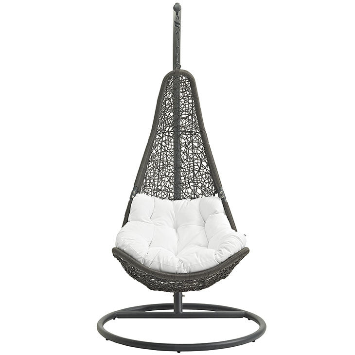 Abate Outdoor Patio Swing Chair with Stand - taylor ray decor