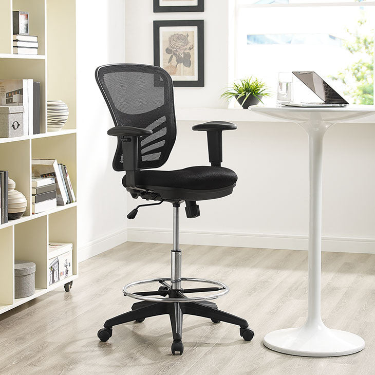 Articulate Drafting Stool