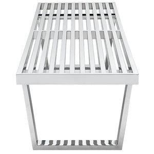 Sauna 5' Stainless Steel Bench - taylor ray decor