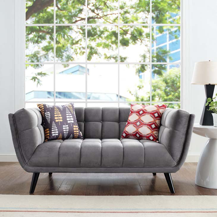 Bestow Modern Velvet Loveseat - taylor ray decor