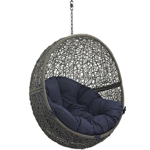 Hide Outdoor Patio Swing Chair Without Stand - taylor ray decor