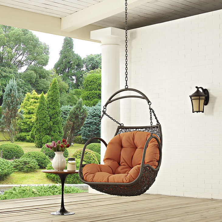 Arbor Outdoor Patio Swing Chair Without Stand - taylor ray decor