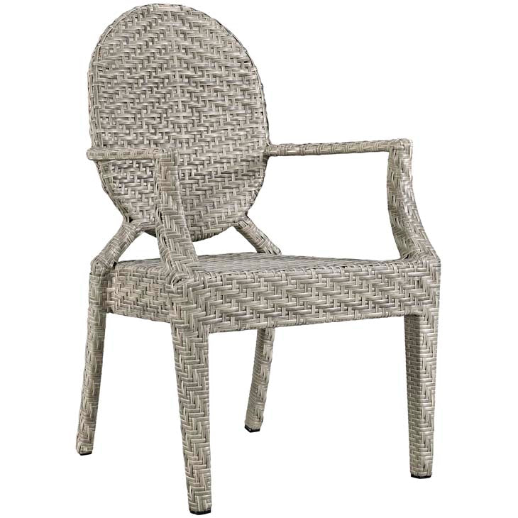 Casper Dining Outdoor Patio Armchair - taylor ray decor