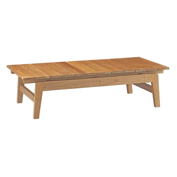 Bayport Outdoor Patio Teak Coffee Table - taylor ray decor