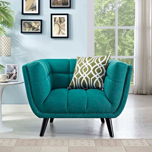 Bestow Upholstered Fabric Armchair - taylor ray decor