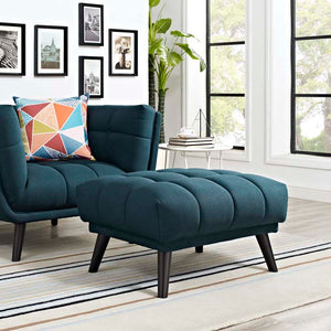 Bestow Upholstered Fabric Ottoman - taylor ray decor