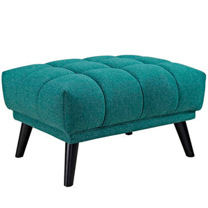 Bestow Upholstered Fabric Ottoman