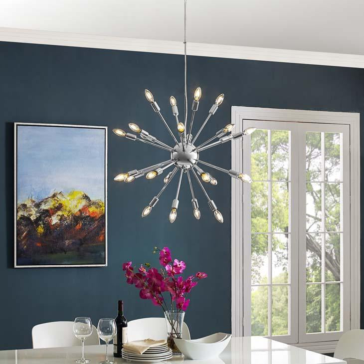 Gamut Modern Metal Chandelier - taylor ray decor
