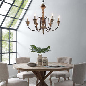 Bountiful Vintage French Pendant Ceiling Light & Candelabra / Chandelier - taylor ray decor