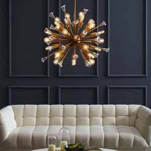 BURST CEILING LIGHT PENDANT / CHANDELIER