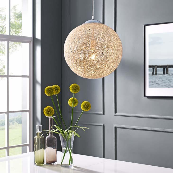 "Spool 16"" Pendant Light Chandelier - taylor ray decor"