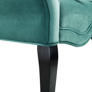 Adelia Chesterfield Style Button Tufted Velvet Bench - taylor ray decor