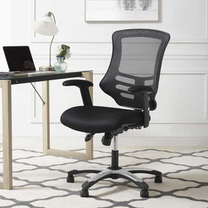 Calibrate Modern Mesh Office Chair in Black