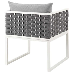 Stance Outdoor Patio Aluminum Dining Armchair - taylor ray decor