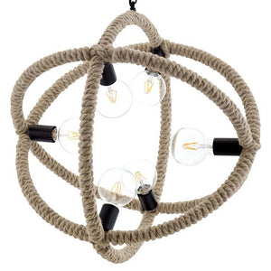 Transpose Rope Pendant Chandelier - taylor ray decor