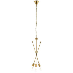 STRIVE BRASS PENDANT