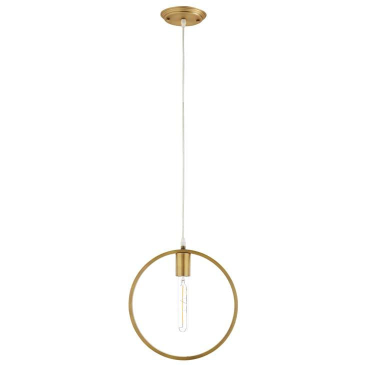ORBIT BRASS CEILING PENDANT LIGHT