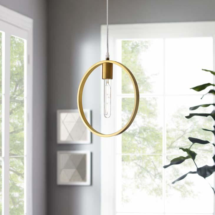 Orbit Brass Ceiling Pendant Light - taylor ray decor