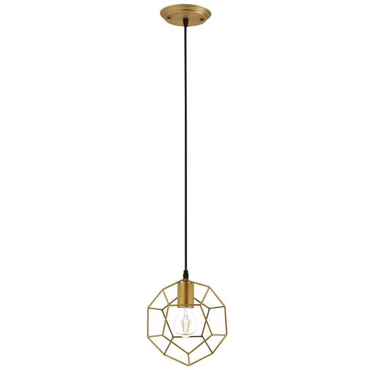 PIQUE ROSE GOLD METAL CEILING FIXTURE