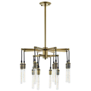Resolve Antique Brass Light Pendant Chandelier - taylor ray decor