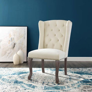 Apprise French Vintage Velvet Dining Chair - taylor ray decor