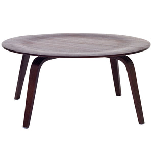 Classic Design Plywood Coffee Table in Wenge