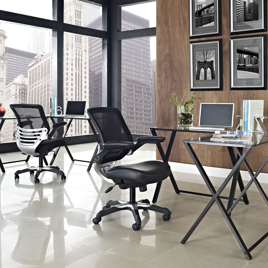 Edge Vinyl Office Chair - taylor ray decor