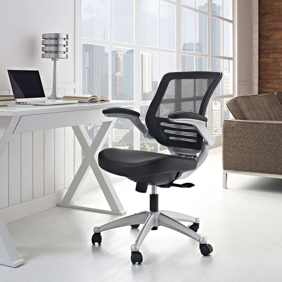 Edge Leather Office Chair - taylor ray decor