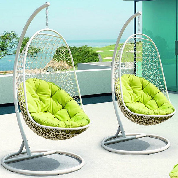 Encounter Swing Outdoor Patio Fabric Lounge Chair