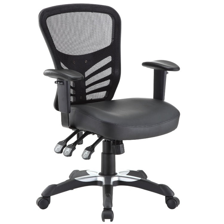 Articulate Vinyl Office Chair - taylor ray decor
