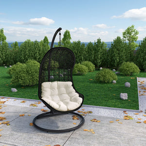 Parlay Swing Outdoor Patio Fabric Lounge Chair - taylor ray decor