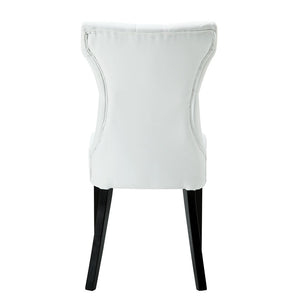 Silhouette Dining Vinyl Side Chair - taylor ray decor