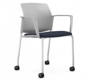 Airus Plastic Solid Back Guest Chair 1529SL.W48