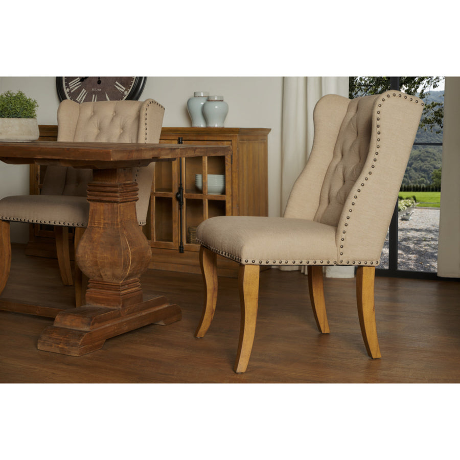 Avignon Tufted Dining Chairs, Set of 2
