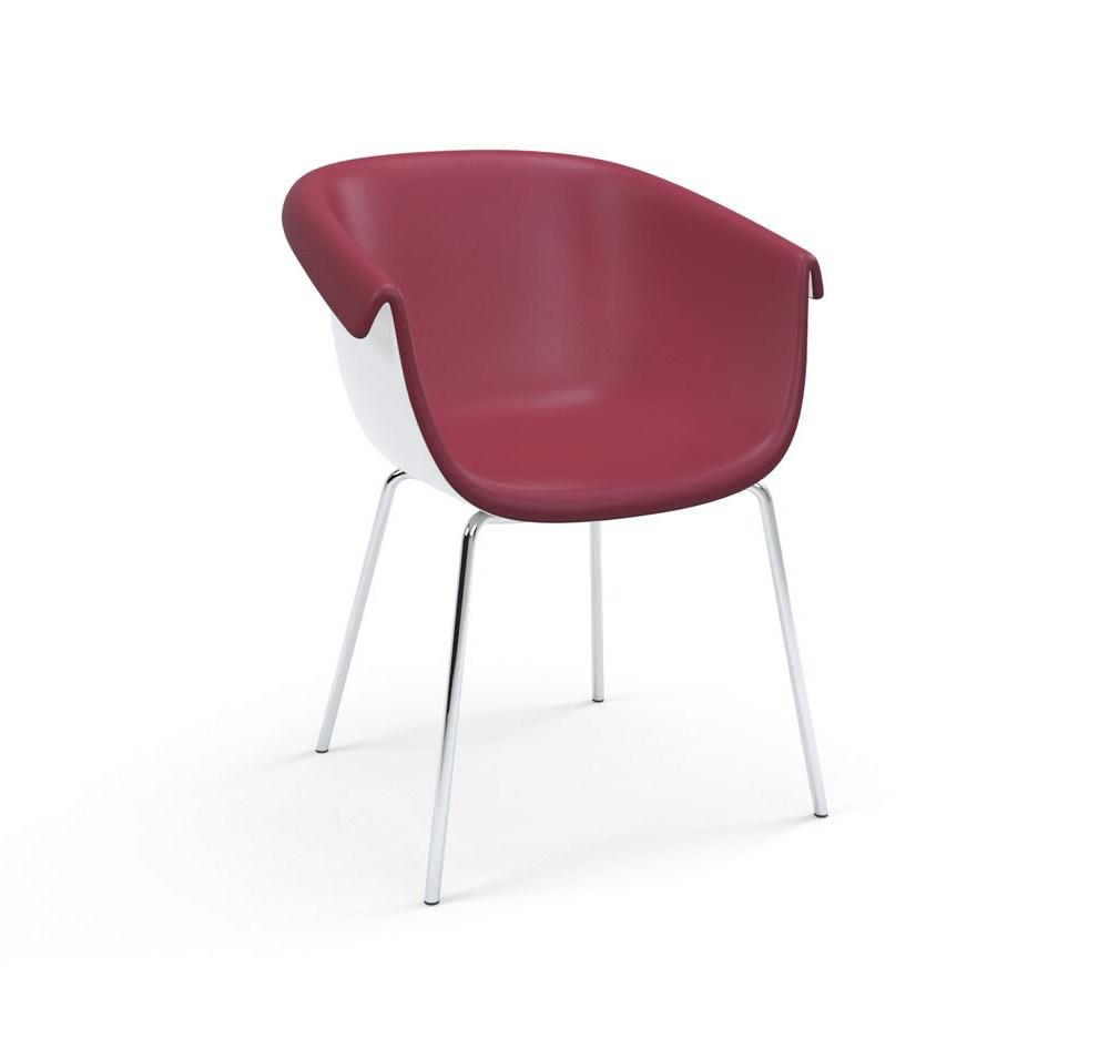 Collier 4-Leg Metal Base Guest Chair